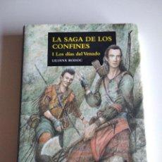 Libros de segunda mano: LA SAGA DE LOS CONFINES, I :LOS DÍAS DEL VENADO (FANTASY NEBULAE) BODOC, LILIANA. Lote 277509233
