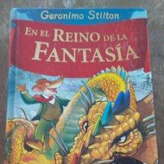 Libros de segunda mano: EN EL REINO DE LA FANTASIA, GERONIMO STILTON, PYMY 46. Lote 277525068