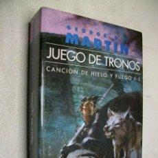 Libros de segunda mano: JUEGO DE TRONOS: CANCION DE HIELO Y FUEGO VOL. 1 BY GEORGE R. R. MARTIN. Lote 277532458