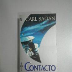 Libros de segunda mano: CONTACTO - CARL SAGAN - PLAZA Y JANÉS. Lote 277720503