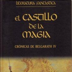 Libros de segunda mano: EL CASTILLO DE LA MAGIA (BELGARATH IV) - DAVID EDDINGS; PLANETA DEAGOSTINI, LITERATURA FANTASTICA. Lote 277728553