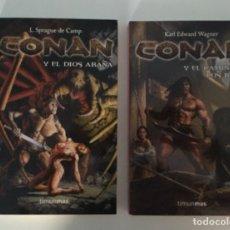 Libros de segunda mano: 2 LIBROS DE CONAN - TIMUN MAS. Lote 278759073