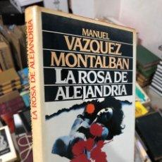 Livros em segunda mão: MANUEL VÁZQUEZ MONTALBÁN: LA ROSA DE ALEJANDRÍA. Lote 285964908