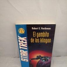 Libros de segunda mano: STAR TREK 2. EL GAMBITO DE LOS KLINGON (PRIMERA EDICIÓN). Lote 287975383