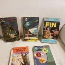 Libros de segunda mano: LOTE DE LAS 5 NOVELAS PUBLICADAS POR ANTONIO RIBERA - CIENCIA FICCIÓN - HOMBRES PECES - OVNIS. Lote 288101243