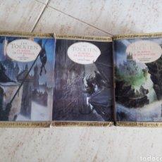 Libros de segunda mano: TRILOGÍA SEÑOR DE LOS ANILLOS. TOLKIEN. Lote 288320278