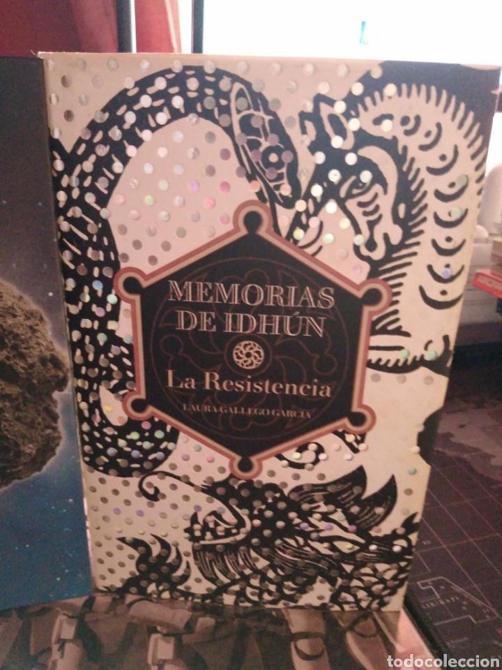 Libros de segunda mano: Memorias de Idhún trilogía Laura Gallego García panteón triada la resistencia - Foto 3 - 289443873