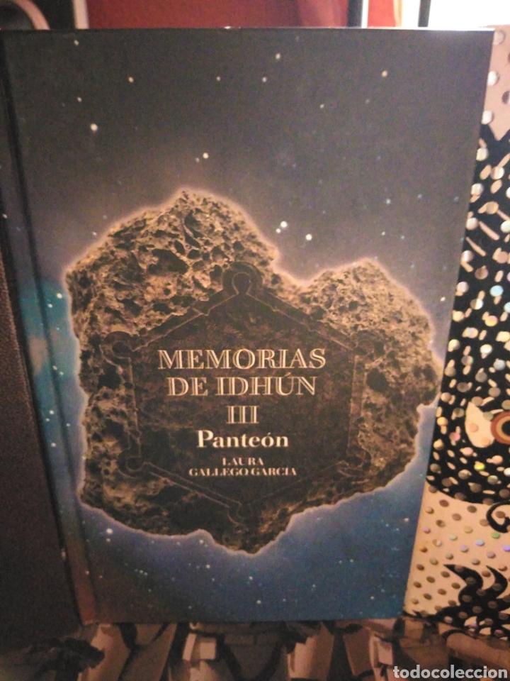 Libros de segunda mano: Memorias de Idhún trilogía Laura Gallego García panteón triada la resistencia - Foto 4 - 289443873