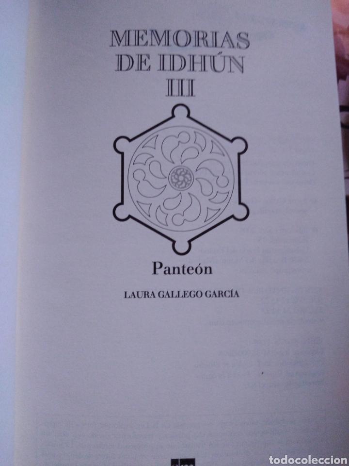 Libros de segunda mano: Memorias de Idhún trilogía Laura Gallego García panteón triada la resistencia - Foto 8 - 289443873