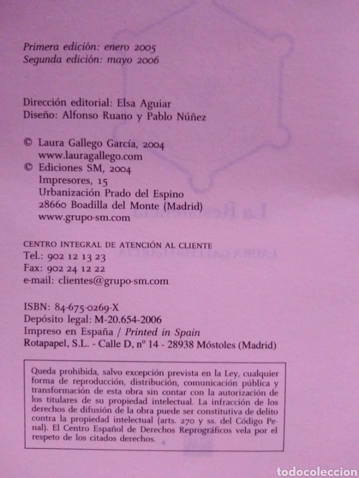 Libros de segunda mano: Memorias de Idhún trilogía Laura Gallego García panteón triada la resistencia - Foto 9 - 289443873