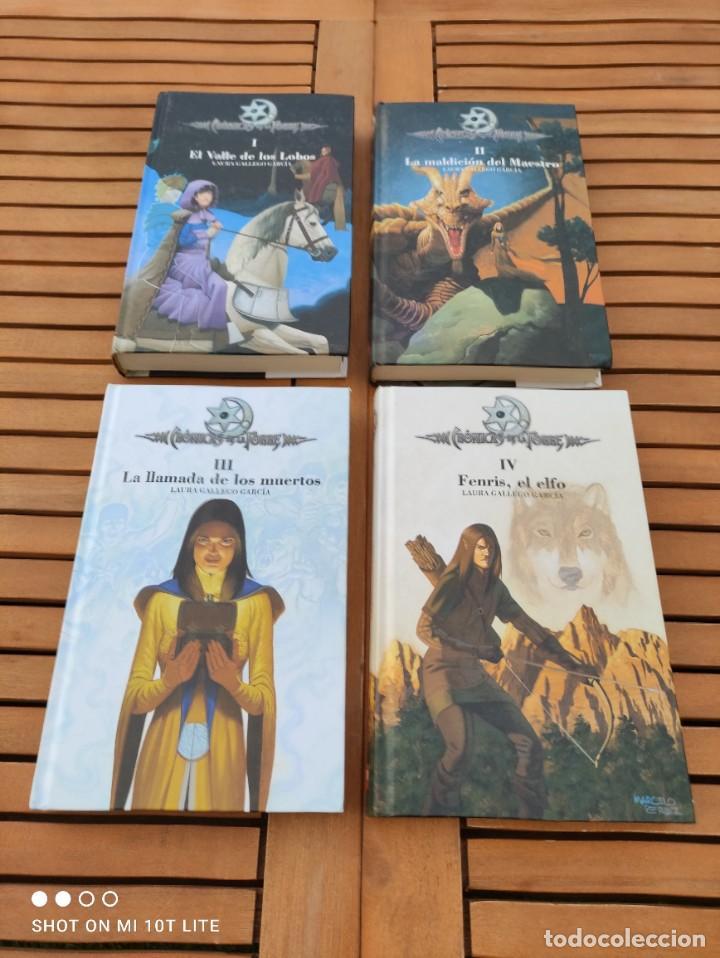 CRONICAS DE LA TORRE, TOMOS I, II, III Y IV, LAURA GALLEGO GARCIA, TETRALOGIA COMPLETA, SM (Libros de Segunda Mano (posteriores a 1936) - Literatura - Narrativa - Ciencia Ficción y Fantasía)