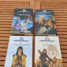 Libros de segunda mano: CRONICAS DE LA TORRE, TOMOS I, II, III Y IV, LAURA GALLEGO GARCIA, TETRALOGIA COMPLETA, SM. Lote 289628063