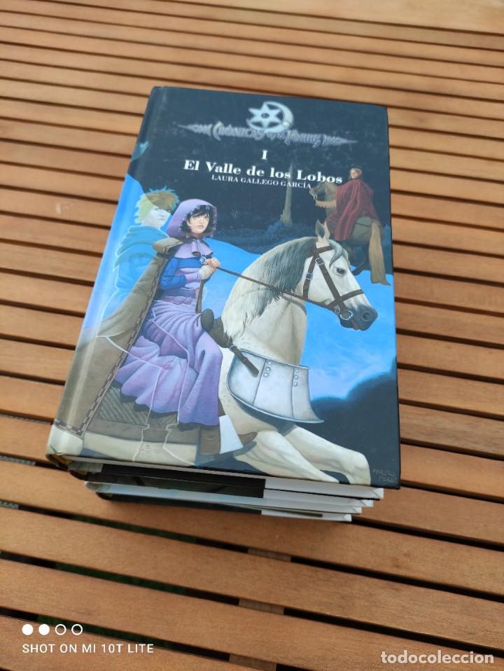 Libros de segunda mano: CRONICAS DE LA TORRE, TOMOS I, II, III Y IV, LAURA GALLEGO GARCIA, TETRALOGIA COMPLETA, SM - Foto 3 - 289628063