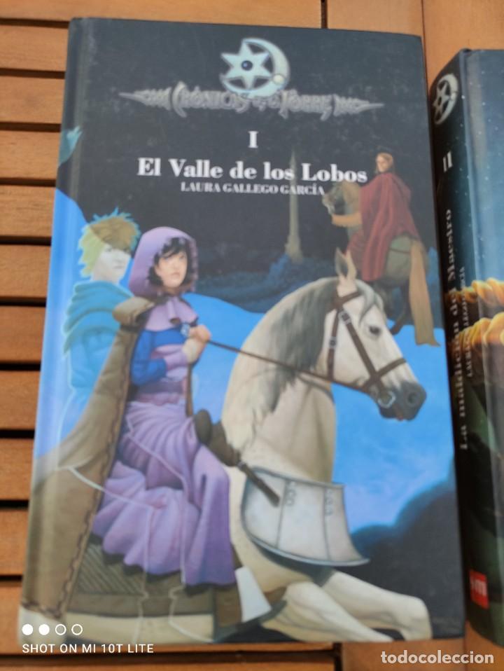 Libros de segunda mano: CRONICAS DE LA TORRE, TOMOS I, II, III Y IV, LAURA GALLEGO GARCIA, TETRALOGIA COMPLETA, SM - Foto 4 - 289628063