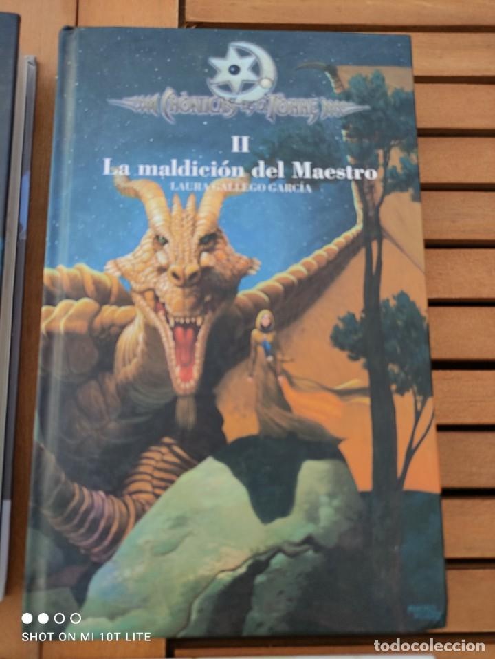 Libros de segunda mano: CRONICAS DE LA TORRE, TOMOS I, II, III Y IV, LAURA GALLEGO GARCIA, TETRALOGIA COMPLETA, SM - Foto 5 - 289628063