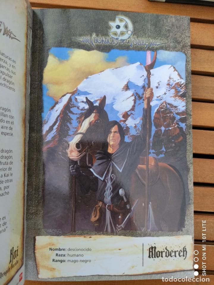 Libros de segunda mano: CRONICAS DE LA TORRE, TOMOS I, II, III Y IV, LAURA GALLEGO GARCIA, TETRALOGIA COMPLETA, SM - Foto 11 - 289628063