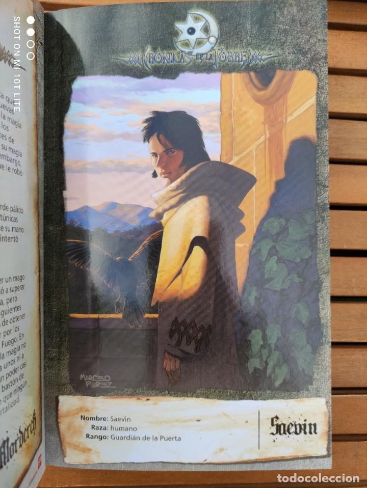 Libros de segunda mano: CRONICAS DE LA TORRE, TOMOS I, II, III Y IV, LAURA GALLEGO GARCIA, TETRALOGIA COMPLETA, SM - Foto 13 - 289628063