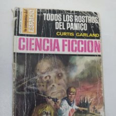 """Libros de segunda mano: CIENCIA FICCION LA CONQUISTA DEL ESPACIO 145 """"TODOS LOS ROSTROS DEL PANICO"""" CURTIS GARLAND. Lote 289628378"""