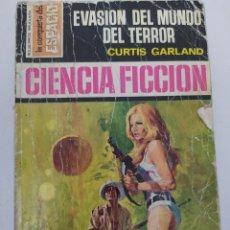 """Libros de segunda mano: CIENCIA FICCION LA CONQUISTA DEL ESPACIO 147 """"EVASION DEL MUNDO DEL TERROR"""" CURTIS GARLAND. Lote 289628928"""