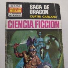 """Libros de segunda mano: BOLSILIBRO CIENCIA FICCION LA CONQUISTA DEL ESPACIO 151 """"SAGA DE DRAGON"""" CURTIS GARLAND. Lote 289630098"""