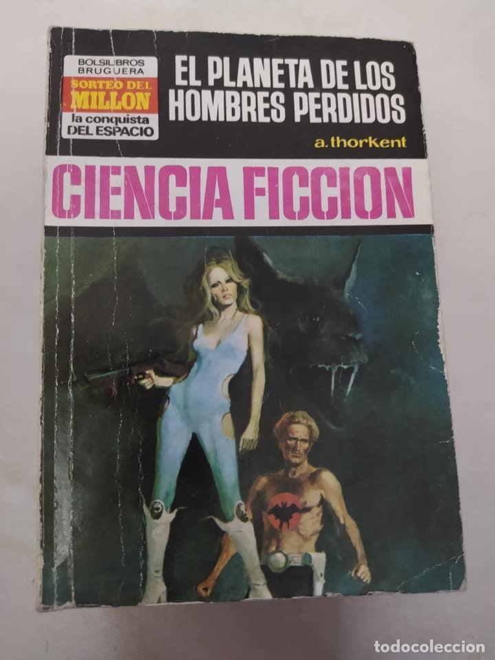 """CIENCIA FICCION LA CONQUISTA DEL ESPACIO 154 """"EL PLANETA DE LOS HOMBRES PERDIDOS"""" A. THORKENT (Libros de Segunda Mano (posteriores a 1936) - Literatura - Narrativa - Ciencia Ficción y Fantasía)"""