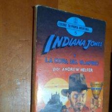 Libros de segunda mano: INDIANA JONES Y LA COPA DEL VAMPIRO. ANDREW HELFER. ESCOGE TU PROPIA AVENTURA 5. BUEN ESTADO. Lote 289640383
