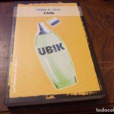 Libros de segunda mano: UBIK, PHILIP K. DICK. LA FACTORÍA DE IDEAS 1ª ED. MAYO 2.000, COLECCIÓN SOLARIS FICCIÓN Nº 3. Lote 289678283