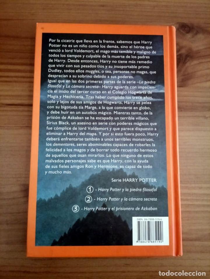 Libros de segunda mano: HARRY POTTER Y EL PRISIONERO DE AZKABAN. ROWLING, J. K. EMECE. 4 ª ED. 2000 NUEVO. - Foto 4 - 290115488