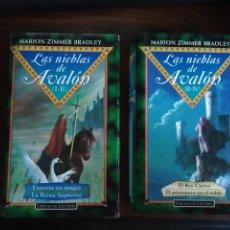 Libros de segunda mano: LAS NIEBLAS DE AVALON. MARION ZIMMER BRADLEY. 2 TOMOS. TAPA DURA. CÍRCULO DE LECTORES. Lote 291913798