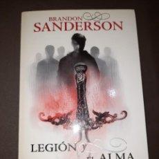 Libros de segunda mano: LEGIÓN Y EL ALMA DEL EMPERADOR (BRANDON SANDERSON) FANTASCY. Lote 293833928