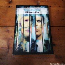 Libros de segunda mano: DISTRACCION. BRUCE STERLING. Lote 294484303