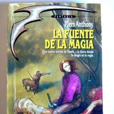 Libros de segunda mano: LA FUENTE DE LA MAGIA - LA MAGIA DE XANTH. 2 - PIERS ANTHONY. Lote 294517223