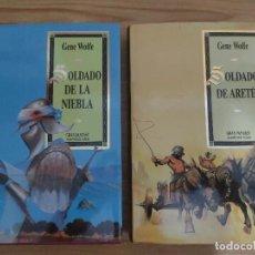 Libros de segunda mano: SOLDADO DE ARETÉ + SOLDADO DE LA NIEBLA - SERIE DE LATRO 1 Y 2 (GENE WOLFE) MARTÍNEZ ROCA GRAN FANTA. Lote 295552338