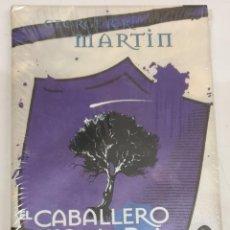 Libros de segunda mano: EL CABALLERO DE LOS SIETE REINOS - EDICION DE LUJO - GEORGE R. R. MARTIN / GIGAMESH. Lote 295712298