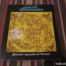 Libros de segunda mano: REVISTA NUEVA DIMENSION 48 ESPECIAL DE VERANO DRONTE CIENCIA FICCIÓN. Lote 296785863