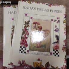 Libros de segunda mano: HADAS DE LAS FLORES / VOLUMEN I Y II / CICELY MARY BARKER / ALTAYA. Lote 296896793