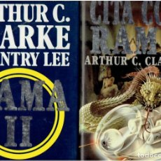 Libros de segunda mano: CITA CON RAMA TOMO 1 Y 2.ARTHUR C.CLARKE ULTRAMAR EDITORES S.A. 1 EDICION ABRIL 1996. Lote 297152338