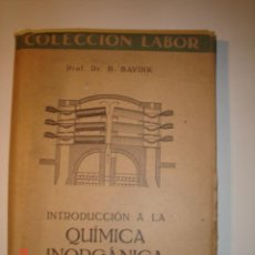 Libros de segunda mano de Ciencias: QUIMICA INORGANICA. Lote 4243470