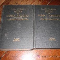 Libros de segunda mano de Ciencias: TRATADO DE QUIMICA ANALITICA TOMO 1 Y 2 . Lote 10180209