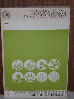 BIOLOGÍA GENERAL POR SALUSTIO ALVARADO DE ED. UNED EN MADRID 1976 (Libros de Segunda Mano - Ciencias, Manuales y Oficios - Biología y Botánica)