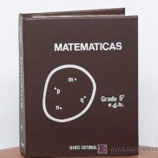 Libros de segunda mano de Ciencias: CURSO DE MATEMATICAS DE E.G.B CON 1428 DIAPOSITIVAS (ARTICULO NUEVO). Lote 22750342