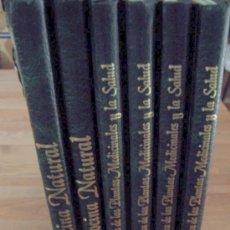 Libros de segunda mano: GUÍA PRÁCTICA DE LAS PLANTAS MEDICINALES Y LA SALUD Y COCINA NATURAL-6 TOMOS-EDITORS-1994. Lote 25077543