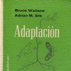 Libros de segunda mano: ADAPTACION. Lote 19880