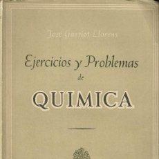 Libros de segunda mano de Ciencias: EJERCICIOS Y PROBLEMAS DE QUÍMICA. Lote 14096129