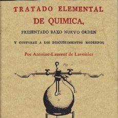 Libros de segunda mano de Ciencias: TRATADO ELEMENTAL DE QUIMICA. Lote 34150330