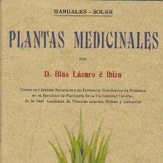 Libros de segunda mano: PLANTAS MEDICINALES. Lote 15040655