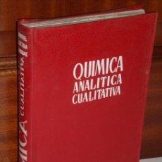 Libros de segunda mano de Ciencias: QUÍMICA ANALÍTICA CUALITATIVA POR BURRIEL, LUCENA Y ARRIBAS DE PARANINFO EN MADRID 1959 3ª EDICIÓN. Lote 24843398