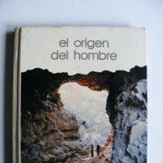 Libros de segunda mano: EL ORIGEN DEL HOMBRE, SALVAT, EMILIANO AGUIRRE, 1973. Lote 16724559