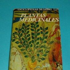 Libros de segunda mano - PLANTAS MEDICINALES. PROF. ARGOROMEDIA. ENCICLOPEDIAS DE GASSO. EXTRA. 1973. TAPA DURA. - 27086024