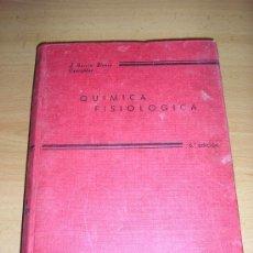 Libros de segunda mano de Ciencias: QUIMICA FISIOLÓGICA (TOMO 2)-J. GARCIA-BLANCO OYARZALBAL-1967. Lote 26855169